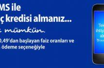 Finansbank SMS Kredi