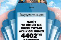 İşbankası SMS Kredisi