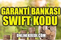 Garanti Bankası Swift Kodu