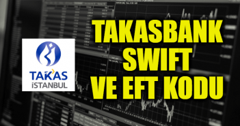 Takasbank SWIFT ve EFT Kodu