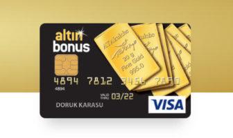 Altın Bonus Kredi Kartı