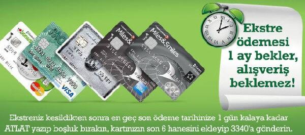 Garanti Bankası Ekstre Atlat Kampanyası